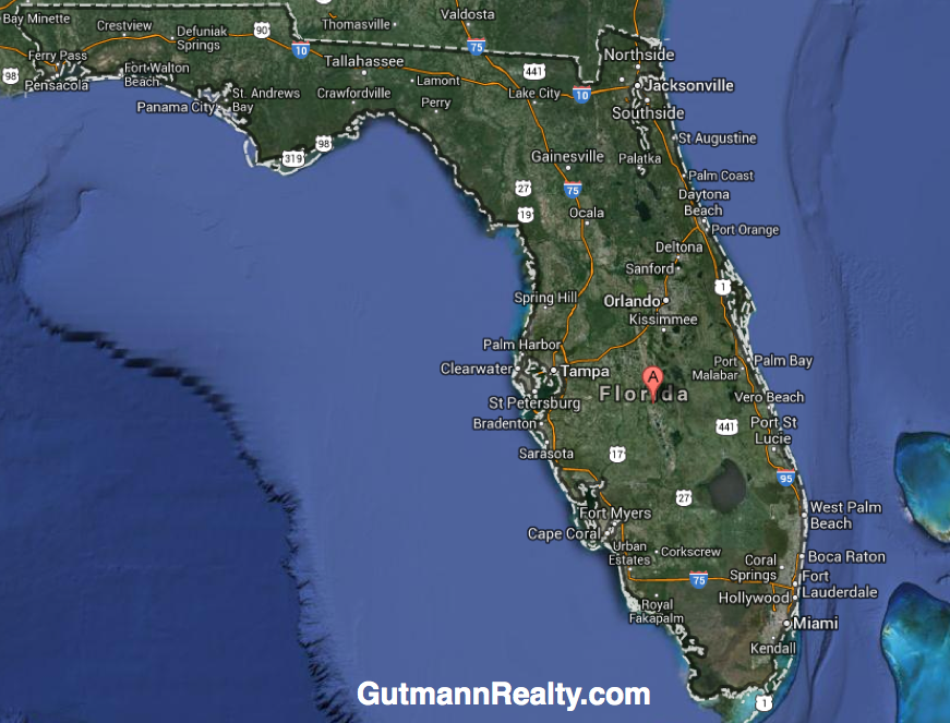 Florida Map Map Of South Florida With Cities Counties 2014